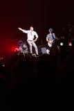 98 degrés de concert à Montréal Photos libres de droits
