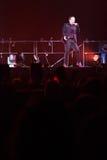 98 degrés de concert à Montréal Photo libre de droits