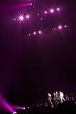 98 degrés de concert à Montréal Photos stock