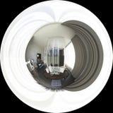 degrés sphériques de l'illustration 3d 360, panorama sans couture de bedr Photos libres de droits