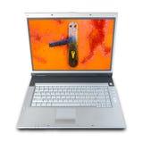 Degré de sécurité d'ordinateur Photographie stock libre de droits