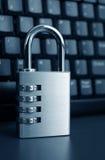 degré de sécurité d'ordinateur Images stock