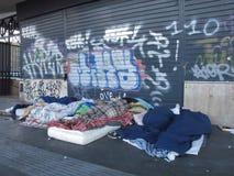 Degradación urbana en Roma, Italia fotos de archivo libres de regalías