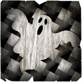 degraderad spöke halloween royaltyfri illustrationer