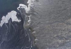 Degraderade landskapmineraler bryter i söder av Polen Förstört l Arkivfoton