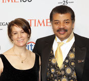 DeGrasse Tyson d'Alice Young et de Neil Photos stock