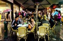 Degraves gata - Melbourne Royaltyfri Foto