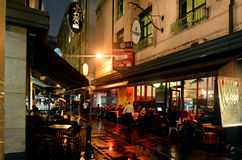 Degraves Street - Melbourne Royalty Free Stock Images