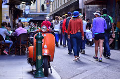 Degraves Street - Melbourne Royalty Free Stock Photo