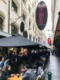 Degraves Street in MELBOURNE AUSTRALIA Stock Photography