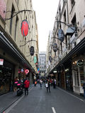 Degraves Street in MELBOURNE AUSTRALIA Stock Photos