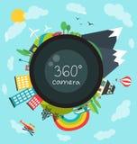360 degree camera Royalty Free Stock Photo