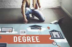 Degree Diploma Bachelor Master Expertise Wisdom Concept Stock Photos