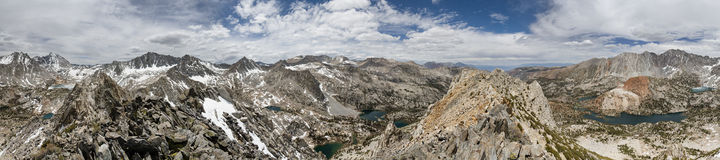 360 Degree Mountain Panorama Stock Photos