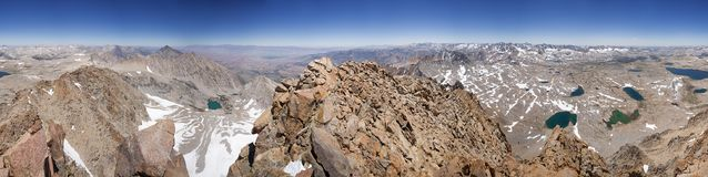 Panorama From Mount Humphreys Summit Royalty Free Stock Photography