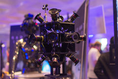 360-Degree Virtual Reality Camera System Stock Photography