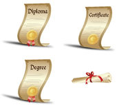 Degrees Stock Image