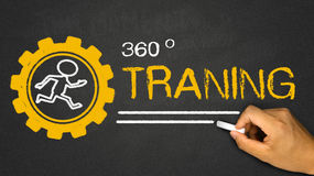 360 Degrees Training Stock Photo