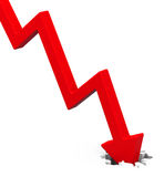 Degression Stock Photo