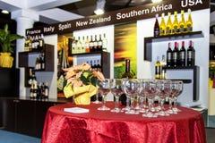 Degustação de vinhos Imagem de Stock