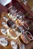Degustação de vinhos Fotos de Stock Royalty Free