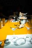 Degustação de vinhos, adega Donnafugata, Marsala, Sicília, Itlay, o 28 de maio Foto de Stock Royalty Free