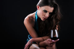 Degustação de vinhos glamoroso imagem de stock royalty free