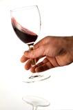 Degustation de vin rouge Images libres de droits