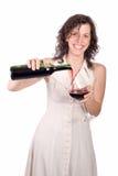Degustation del vino Fotografía de archivo libre de regalías