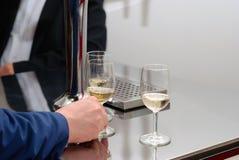 Degustation del vino Foto de archivo