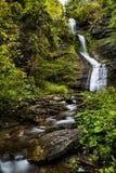 Deh-gummin-ya-soh nedgångar - vattenfall - Letchworth delstatspark - New York arkivfoton