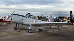 DeHavilland花栗鼠,葡萄酒试验训练航空器 库存照片