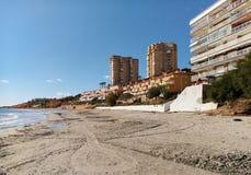 Dehesa de Campoamor海滩  图库摄影