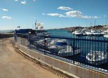 Dehesa de Campoamor港口  西班牙 免版税图库摄影