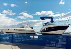 Dehesa de Campoamor港口  西班牙 免版税库存照片