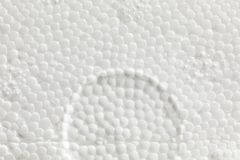 Dehnbare Polystyrenbeschaffenheit Stockfoto