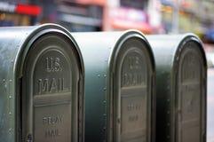 Dehors boîtes aux lettres Images stock