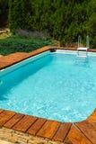 Dehors piscine Photographie stock