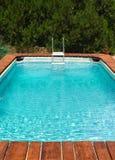 Dehors piscine Image libre de droits