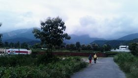 Dehradun mussoorie wzgórza zdjęcia stock