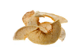 Dehydrated Apple Slices Isolated Stock Photography
