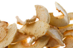 Free Dehydrated Apple Slices Isolated Stock Photography - 7009882