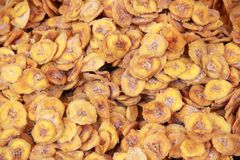 Dehydrated bananas Royalty Free Stock Photo