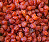 Dehydrated cranberries Stock Images