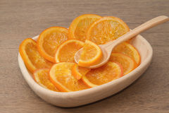 Dehydrated Dried orange Stock Image