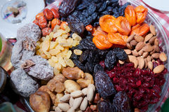 Dehydrated fruit Royalty Free Stock Photo