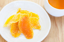 Dehydrated mango Royalty Free Stock Images