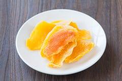 Dehydrated mango Royalty Free Stock Photography