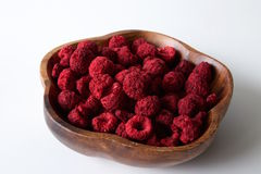 Dehydrated raspberry Stock Image