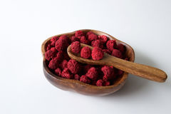 Dehydrated raspberry Stock Photography